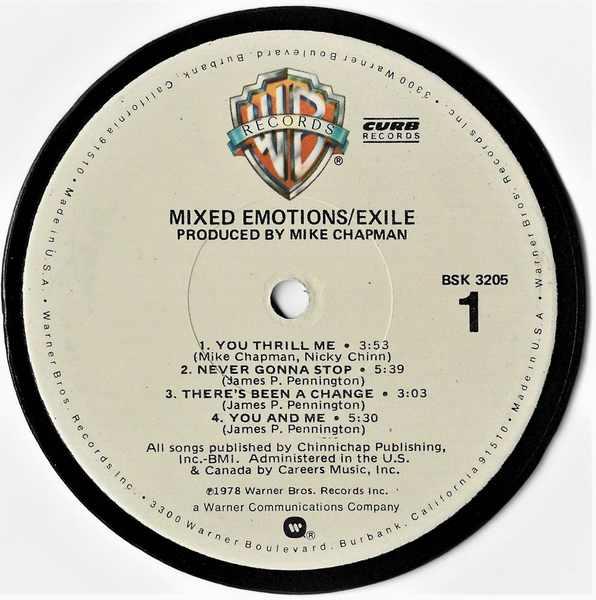 EXILE - Mixed Emotions - Sous-Boque