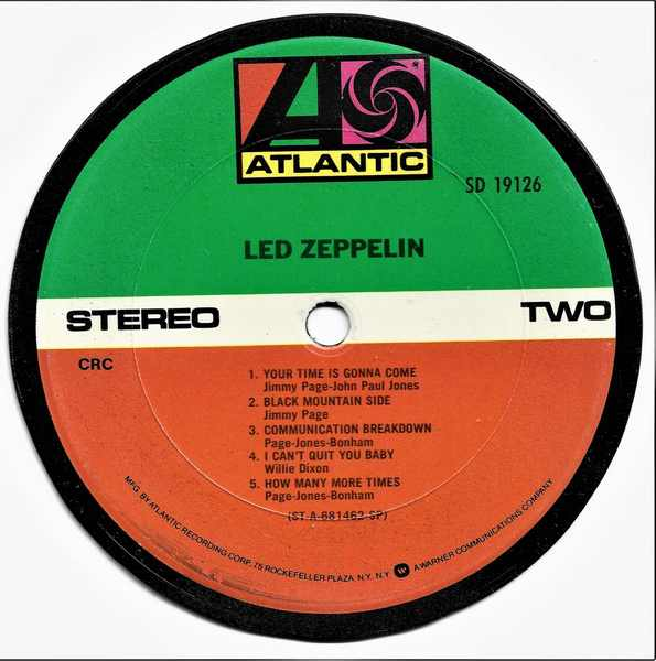 LED ZEPPELIN - Led Zeppelin 1 - Sous-Boque