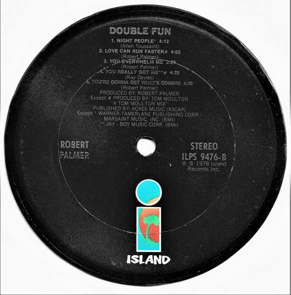 PALMER,  ROBERT - Double Fun - Drink Coaster