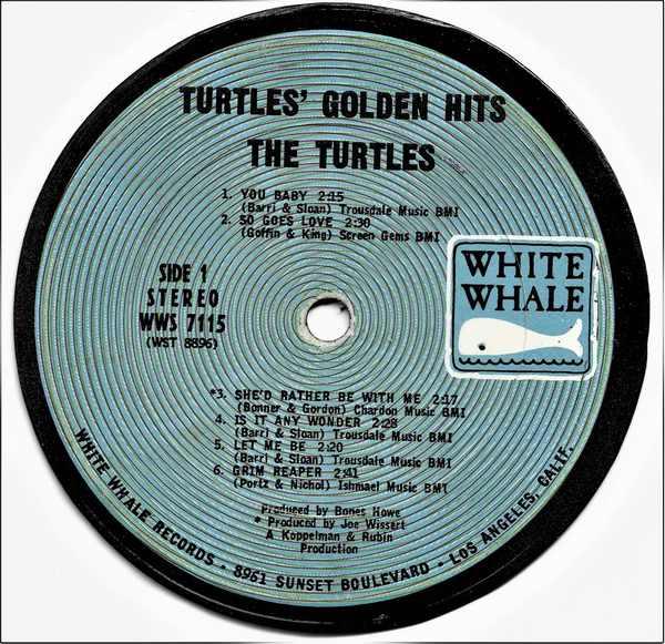 TURTLES - Turtles Golden Hits - Sous-Boque