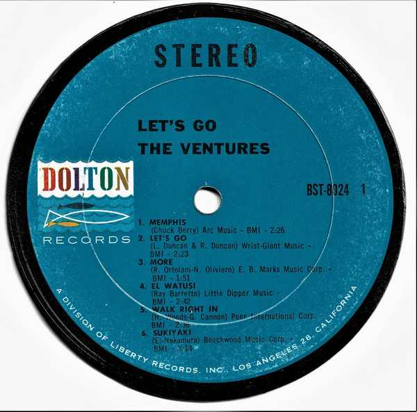 VENTURES - Let's Go - Drink Coaster