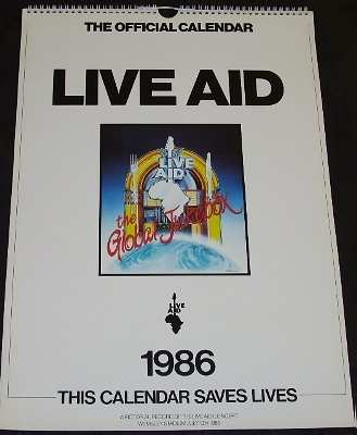 various artists live aid 1986
