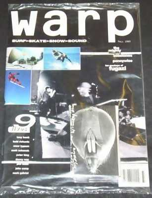 WARP - Fall 1993  Surf Skate Snow Sound - Magazine