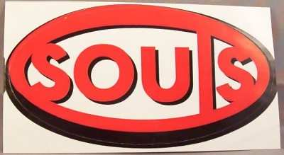 SOULS - Self Titled - Sticker