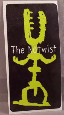 NOTWIST - Self Titled - Sticker
