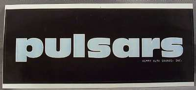 PULSARS - Self Titled - Sticker