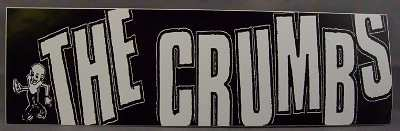 CRUMBS - Self Titled - Sticker