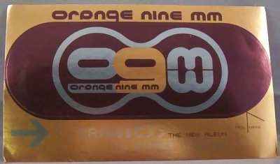 ORANGE NINE MM - Tragic - Sticker