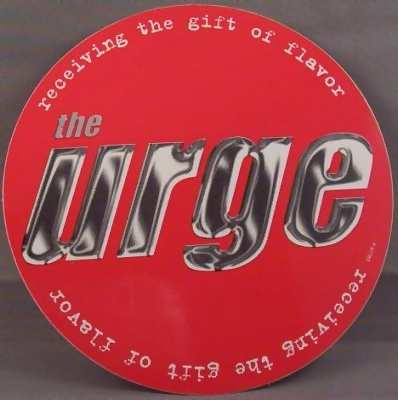 URGE - Receiving The Gift Of Flavor - Sticker