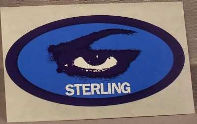 STERLING - Self Titled - Sticker