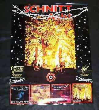 SCHNITT ACHT - Self Titled Schnitt Acht - Poster / Affiche