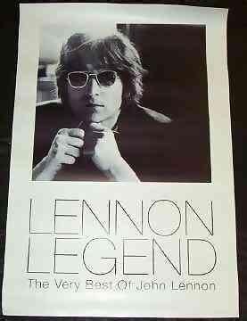 LENNON,  JOHN - Lennon Legend Very best Of John Lennon - Poster / Affiche