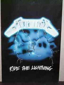METALLICA - Ride The Lightning - Autres