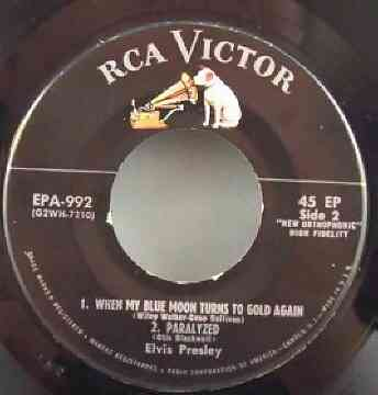 Presley, Elvis - Elvis Vol. 1 EP Vinyl 45 7 - Click Image to Close