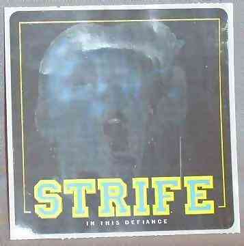 STRIFE - In This Defiance - Sticker