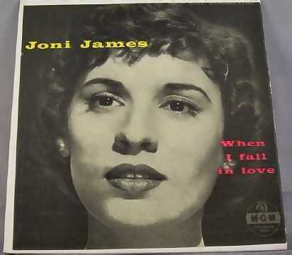 JAMES,  JONI - When I Fall in Love EP Sleeve - 45T x 1