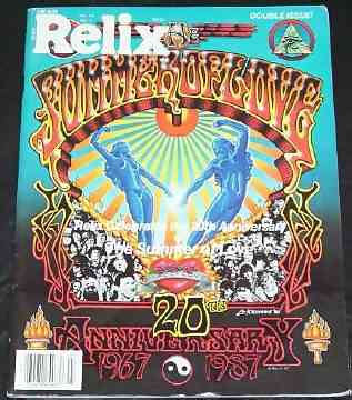 RELIX - 20th Anniversary - Magazine