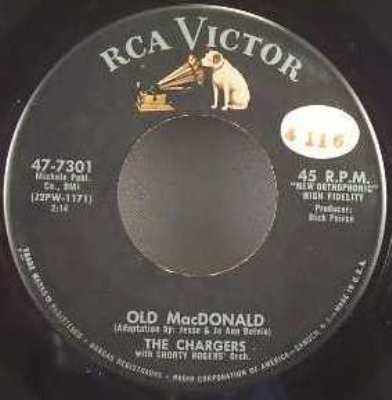 CHARGERS - Dandilyon / Old MacDonald - 7inch x 1