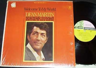 MARTIN,  DEAN - Welcome To My World - LP