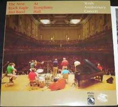 NEW BLACK EAGLE JAZZ BAND - At Symphony Hall - LP