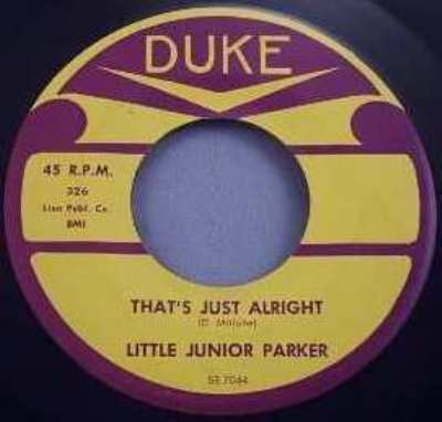PARKER,  LITTLE JUNIOR - I'll Learn To Love Again / That's Just Alright - 45T x 1