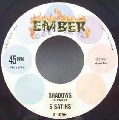 5 Satins Shadows / Toni My Love