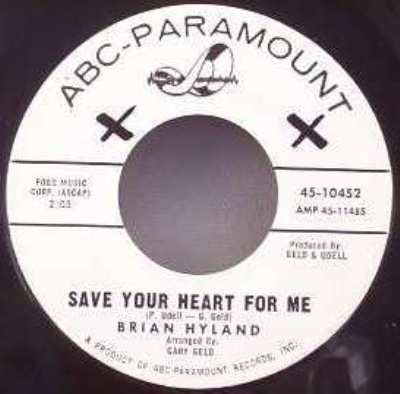 hyland,  brian save your heart for me / i'm afraid to go home
