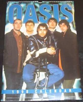 Oasis 1998 Calendar