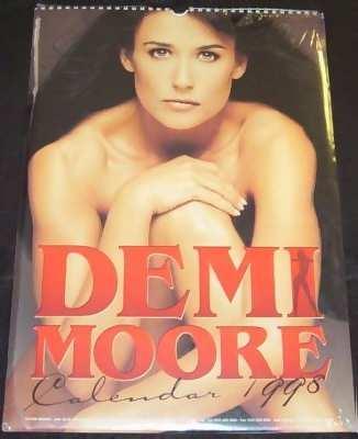 MOORE,  DEMI - 1998 Calendar - Calendrier