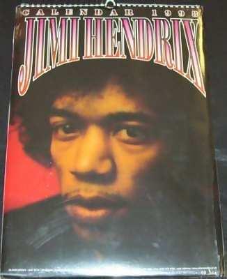 Hendrix,  Jimi 1998 Calendar
