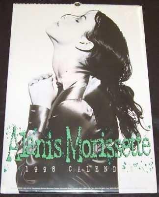 MORISSETTE,  ALANIS - 1998 Calendar - Calendrier