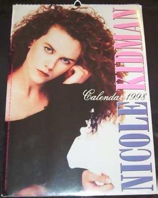 KIDMAN,  NICOLE - 1998 Calendar - Calendrier