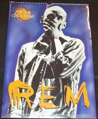 R.E.M. - 1998 Calendar - Calendrier