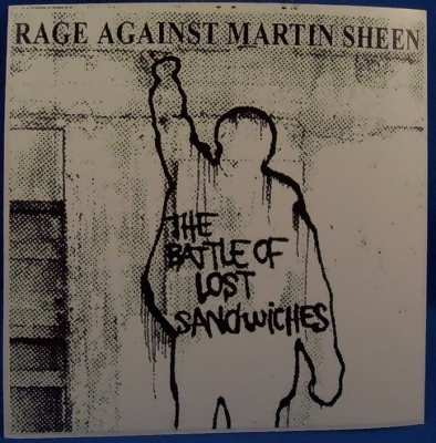 RAGE AGAINST THE MACHINE - Battle Of Lost Sandwiches - Sticker