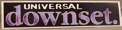 DOWNSET - Universal - Sticker