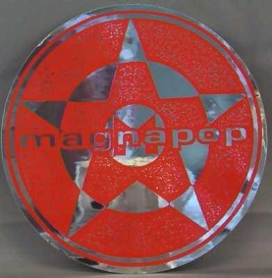 MAGNA POP - Rubbing Doesn't Help - Sticker