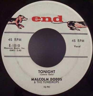 DODDS,  MALCOLM - Tonight / Unspoken Love - 7inch x 1
