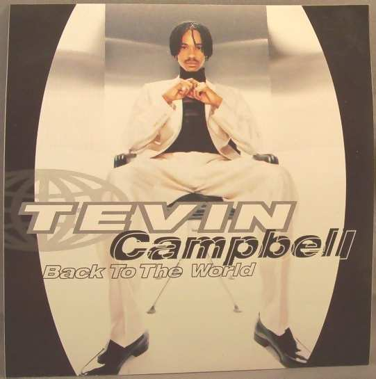 CAMPBELL,  TEVIN - Back To The World - Sticker