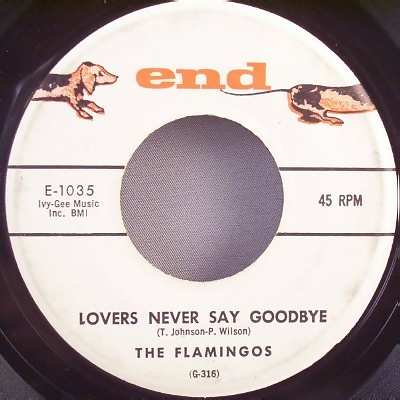 FLAMINGOS - That Love Is You / Lovers Never Say Goodbye - 7inch x 1