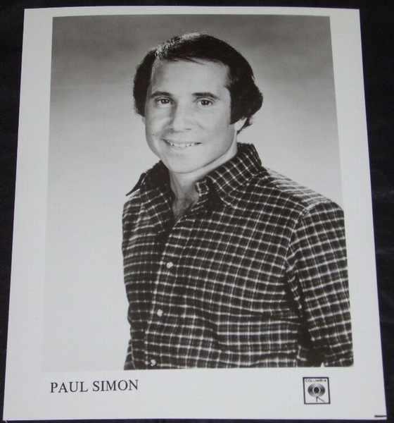 SIMON,  PAUL - 8 X 10 Promo Photo - Autres
