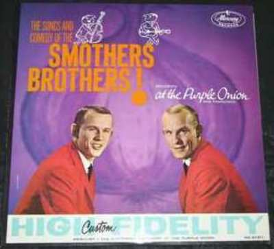 SMOTHERS BROTHERS - At The Purple Onion - LP