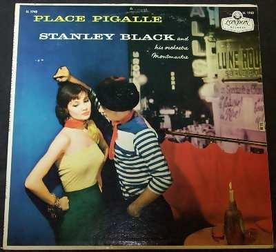 BLACK,  STANLEY - Place Pigalle - 33T
