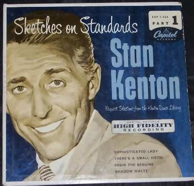 KENTON,  STAN - Sketches On Standards Part 1 (ep picture sleeve) - 7inch x 1