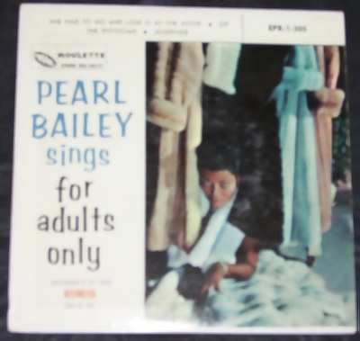 Bailey, Pearl - Sings for Adults Only Vinyl 45 7 EP W/PS - Click Image to Close