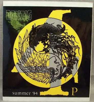 DANZIG - Summer 94 - Sticker