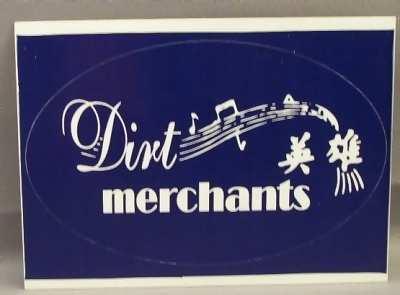 DIRT MERCHANTS - Self Titled - Sticker