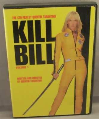 dvd kill bill vol. 1