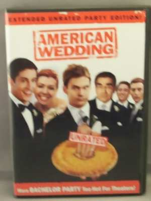 DVD American Wedding (Unrated)