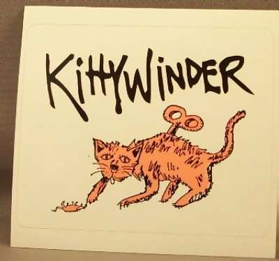 KITTYWINDER - Self Titled - Sticker