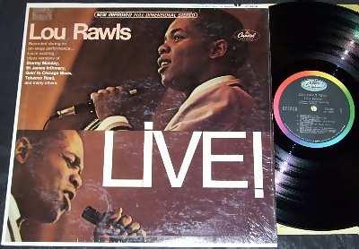 RAWLS,  LOU - Live - 33T